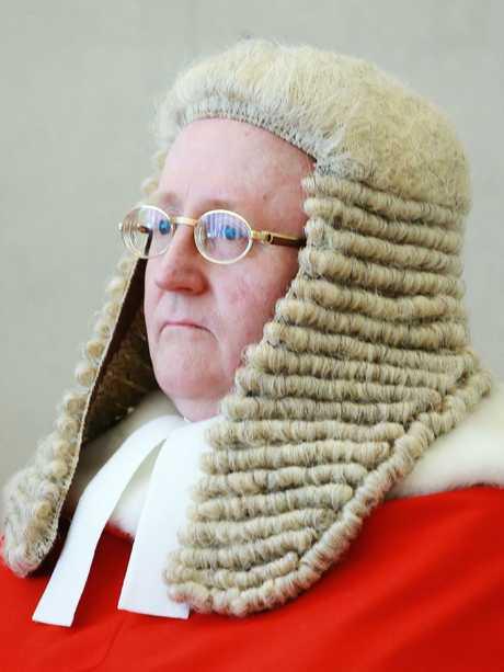 Justice John Bond. Picture: Claudia Baxter