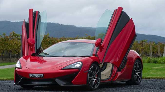 A McLaren 570S costs in excess of $400,000.