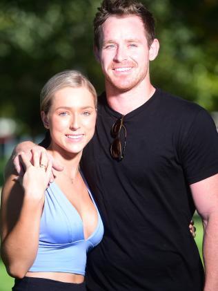 Morgan and partner Brianna O'Toole.