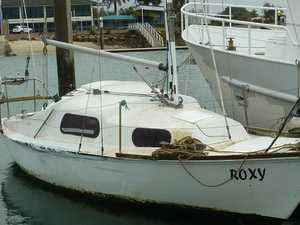 Rookie sailor rescued in derelict boat drama