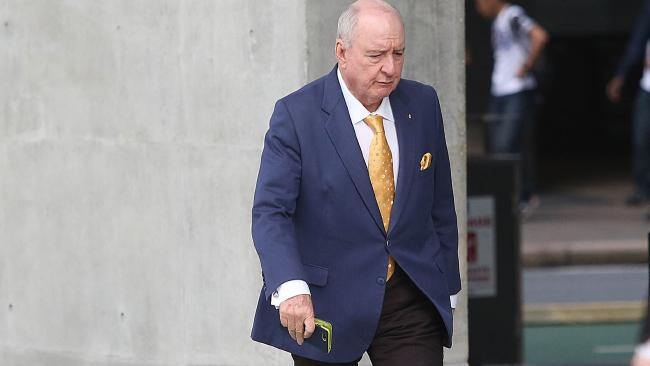 'It was all nonsense', the Wagners claimed about what radio host Alan Jones was saying about them. (AAP Image/Jono Searle)