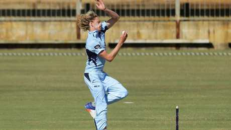 Mickey Edwards is a standout fast bowler for New South Wales, coach Phil Jaques said.