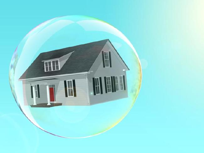 The housing bubble is looking quite vulnerable.