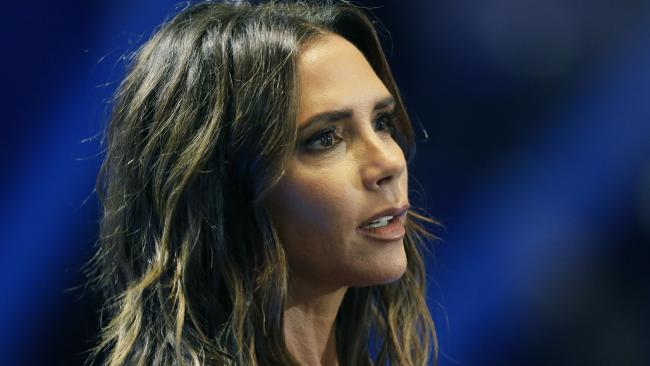 Victoria Beckham has been mocked online for a rare PR fail. Picture: AP