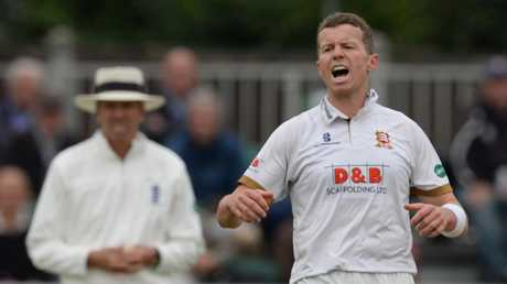 Peter Siddle had a great season in county cricket with Essex.