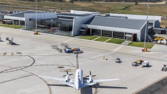 The Wellcamp Airport, Toowoomba. Photo: Glenn Hunt/The Australian