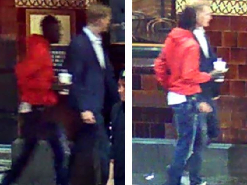 Two men who helped the victim have been urged to come forward. Picture: Victoria Police