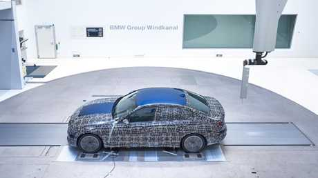 Gone with the wind: Wind tunnels are used to hone a car's aerodynamics.