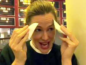 Garner embarrassed at her movie screening