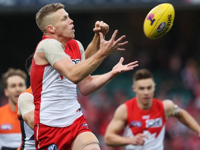 Will Dan Hannebery land at the Saints? Picture: Phil Hillyard