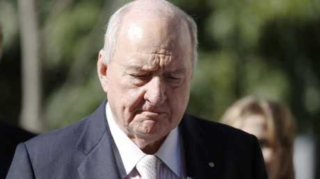 Alan Jones has been ordered to pay millions to the Wagners (AAP Image/Glenn Hunt)