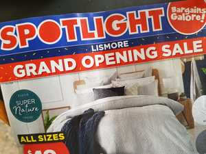 NOW OPEN: Spotlight unveils its new Lismore store