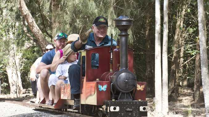 Toowoomba Live Steamers will be providing miniature train rides this Sunday.