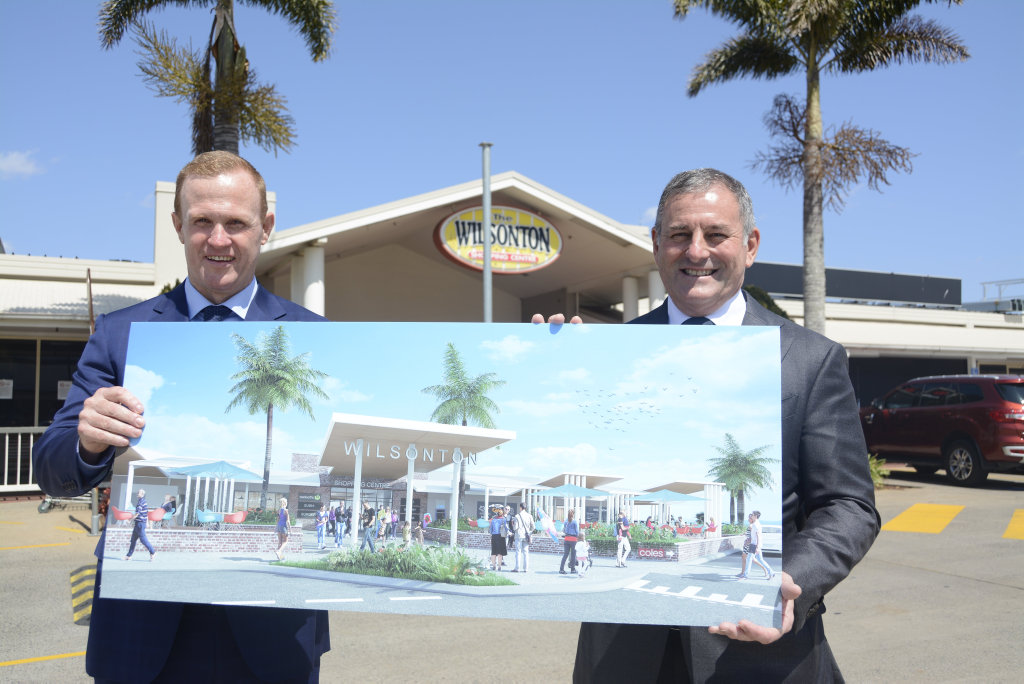 BIG RENO: Consolidated Properties Group retail executive director Craig O'Donnell (left) and executive chairman Don O'Rorke have grand plans for the