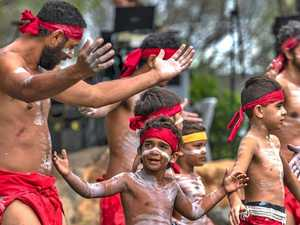 This way to our cultural harmony with Gubbi Gubbi