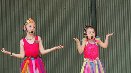 Musical Theatre students from Coast Academy of Song and Dance  performed songs from their upcoming musical at Noosa Country Show last weekend.