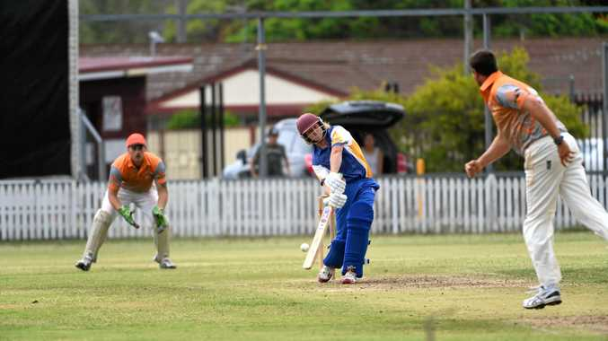 WILD SWING: Matt Gould tries to hit the ball towards the boundary in a T20 game. A new competition will allow others to do the same.