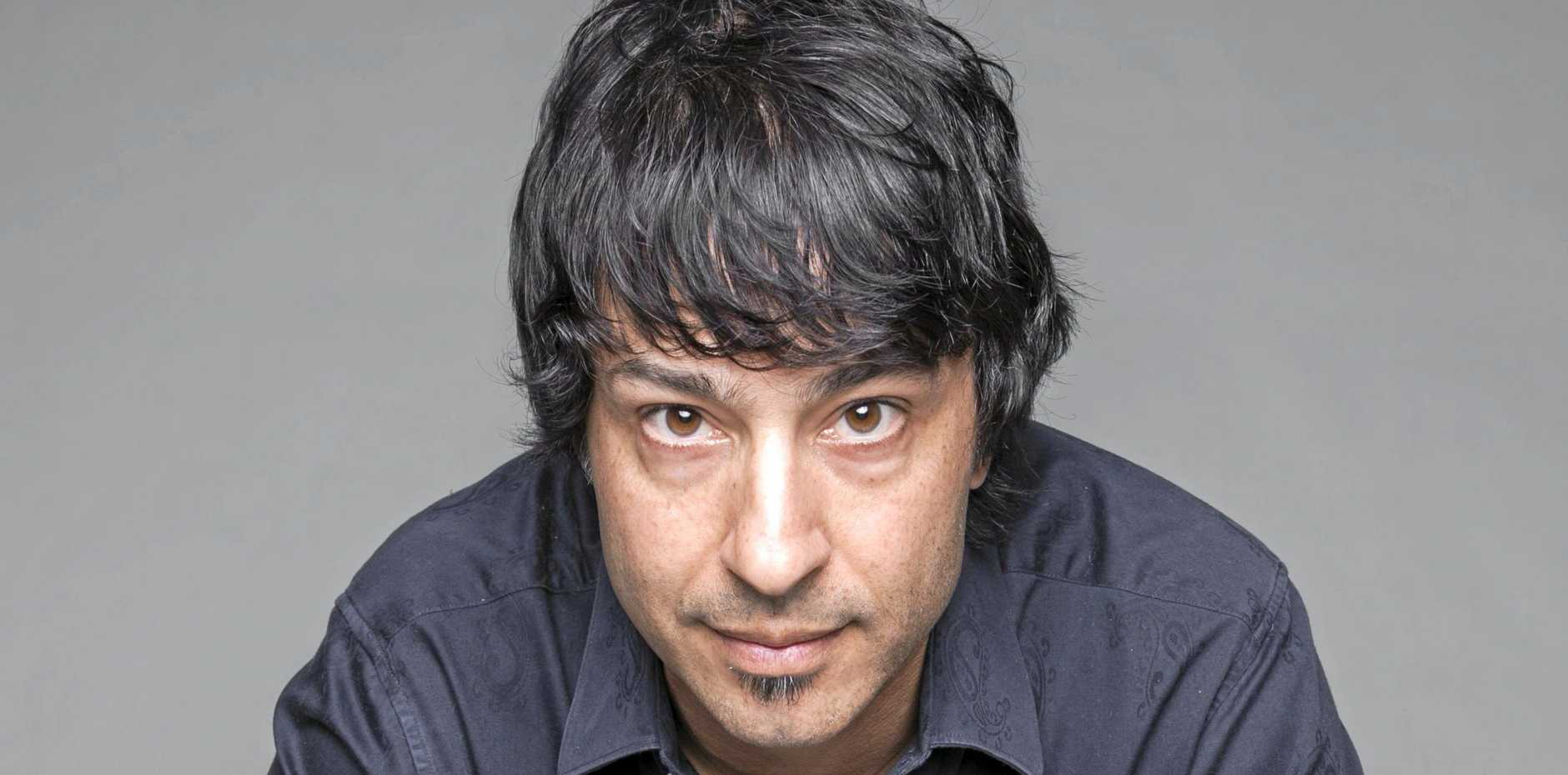 COMEDY: Arj Barker is coming to the MECC in September with his new show We Need to Talk.