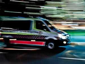 Two men hospitalised after Cunningham Highway crash