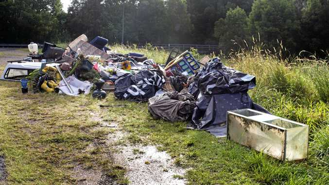 GROWING PROBLEM: Illegal dumping cases are rising in the Tweed.