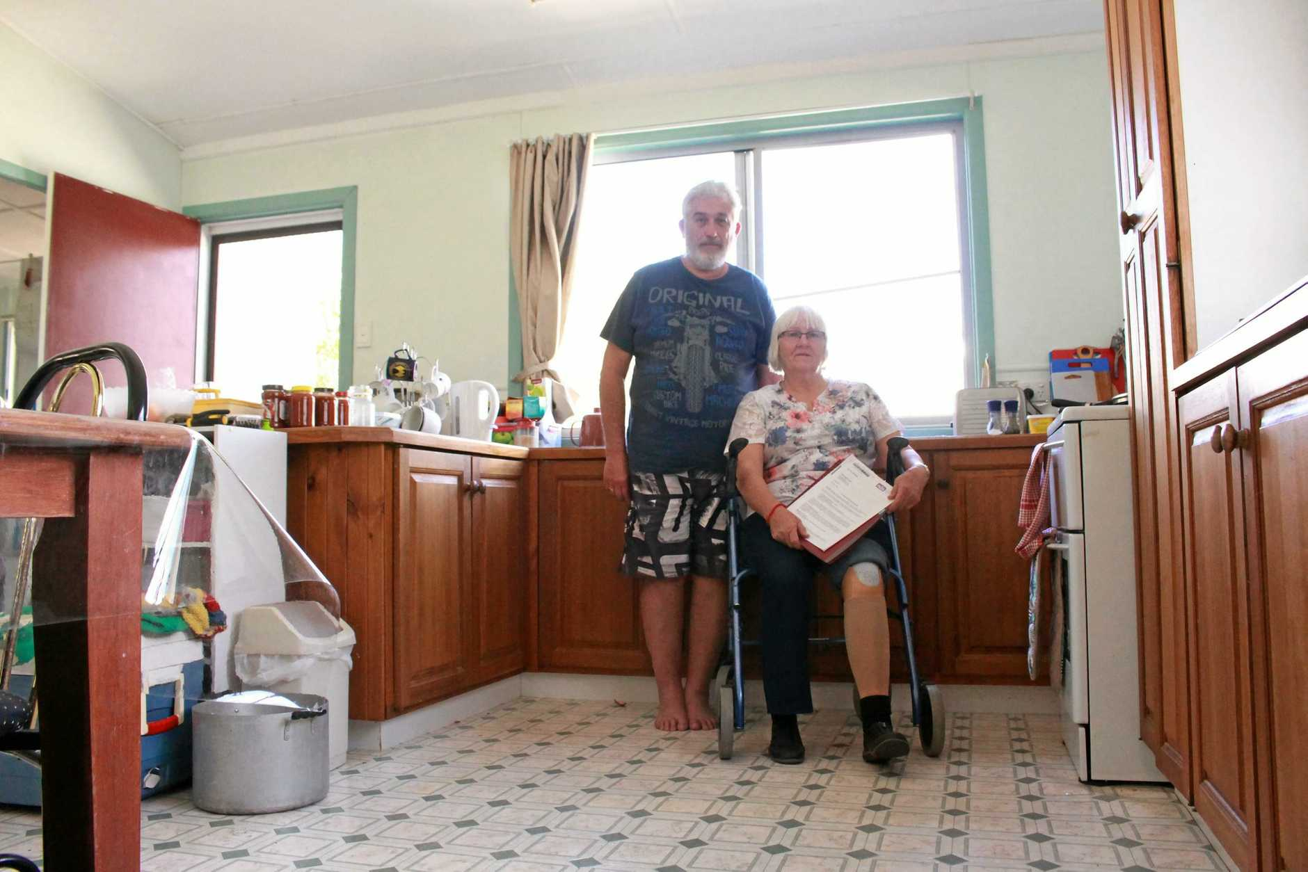 Warwick friends Greg Hutchinson and Kallah Masya have both suffered brain damage and have been helping each other try and access the NDIS but they say the system is not working and in some cases takes advantage of vulnerable people who need support.