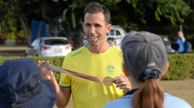 INSPIRING YOUTH: Olympic medallist Mark Knowles is part of the Olympics Unleashed program.