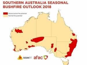 Fire threat above normal for upcoming bushfire season