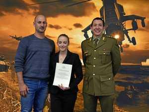 Alyssa Azar prepares for Army challenge