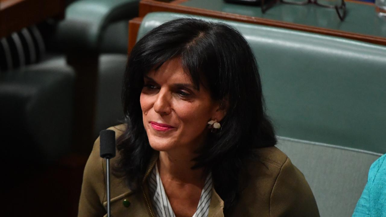 Julia Banks has delivered a fiery late-night address to parliament.