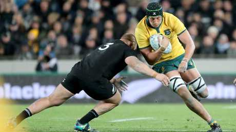Adam Coleman will return off the bench after missing last weekend's Test against the Springboks to be at the birth of his daughter. Picture: AAP Image