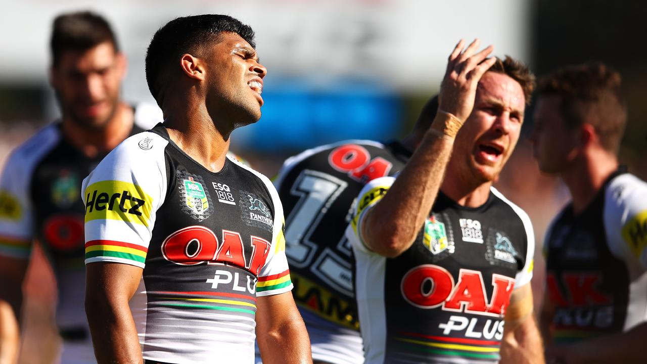 The Gold Coast Titans have attempted to swap Tyrone Peachey for James Maloney in 2019. Photo: Mark Kolbe/Getty Images