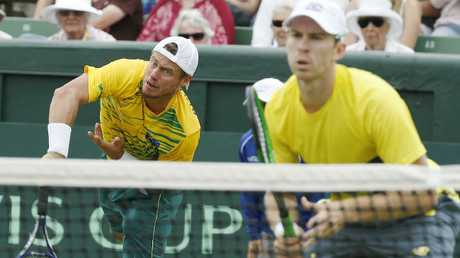 Lleyton Hewitt and John Peers are set to team up again for Australia.