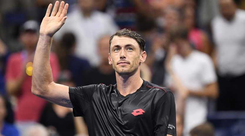 John Millman's form will be pivotal to Australia's hopes in Austria. Picture: Today Sports