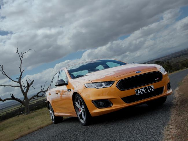 The 2014 FG Falcon XR8. Picture: Supplied