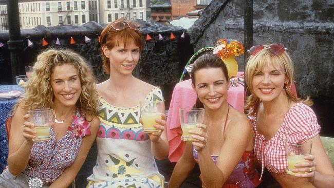 Carrie, Miranda, Charlotte and Samantha made up the core characters.