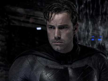 Ben Affleck in a scene from Batman Vs Superman: Dawn of Justice. Picture: Supplied