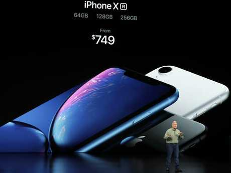The XR has Apple's new A12 Bionic processor, which is the same chip in the more expensive models.