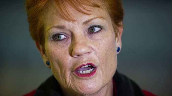 PAULINE Hanson has launched a furious attack on feminists within parliament over a controversial issue she has long campaigned against.