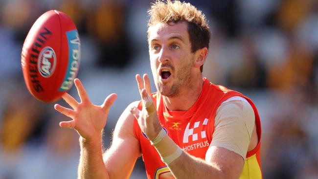 Michael Barlow struggled through a harrowing year on the Gold Coast, but believes he has more footy at the top level left in him. Picture: Michael Klein