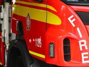 Fire destroys buildings at Durong property