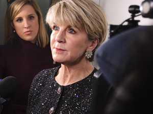 Julie Bishop breaks silence on Peter Dutton