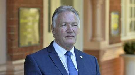 Toowoomba Grammar headmaster Peter Hauser. Picture: Kevin Farmer
