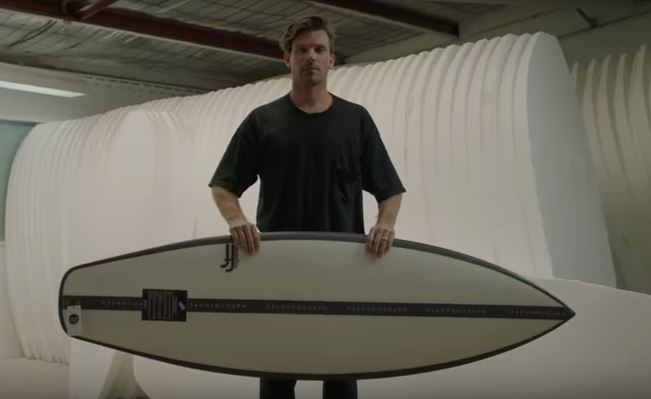 Haydenshapes Surfboards features in the Days of Note campaign.
