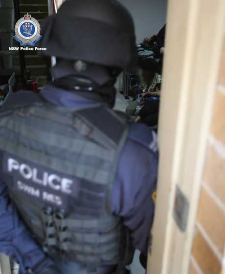 NSW police raids result in multiple arrests. Source: NSW Police