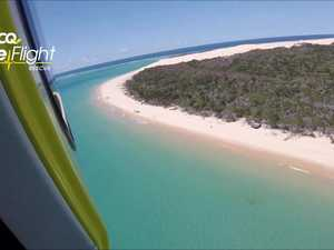 Man airlifted off Fraser Island