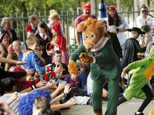 Geronimo Stilton visits students at St Joseph's South