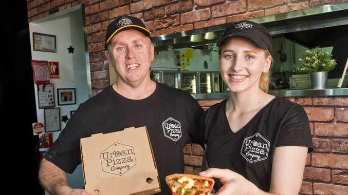 Michael Marsh and Georgia Marsh are proud of the new Urban Pizza Company at The Ridge.