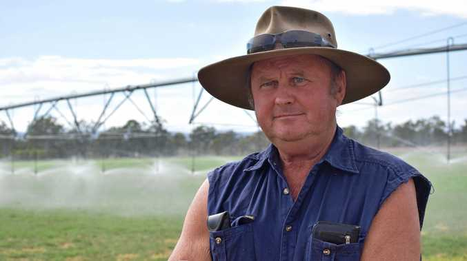 Mick Zimmermann wants to produce more lucerne, but he said he is scared to irrigate because of the cost of electricity. Two years ago his electricity bill was $3,500 per month. It's now $11,000 and he's doing half as much irrigating.
