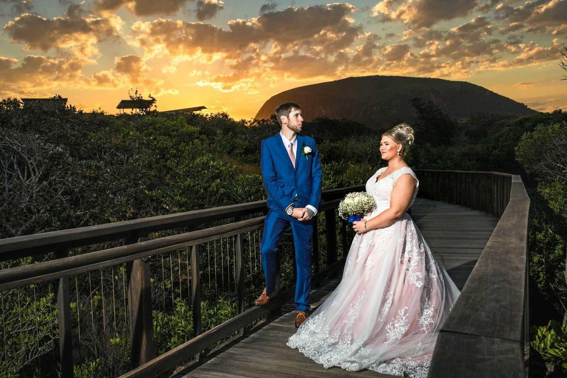 CONGRATS: Casey Picard has married Justin Schmidt.