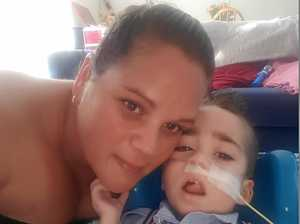 MOTHER: 'Time was right to let my baby boy go'